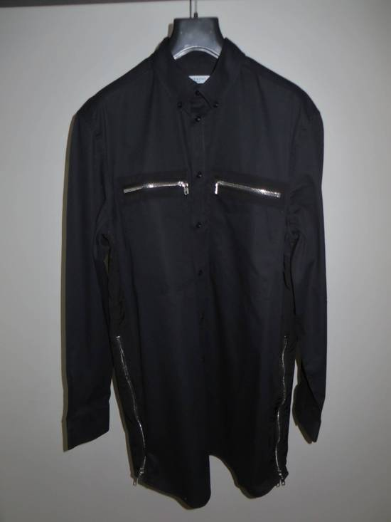 Givenchy Black zipped shirt Size US XXL / EU 58 / 5