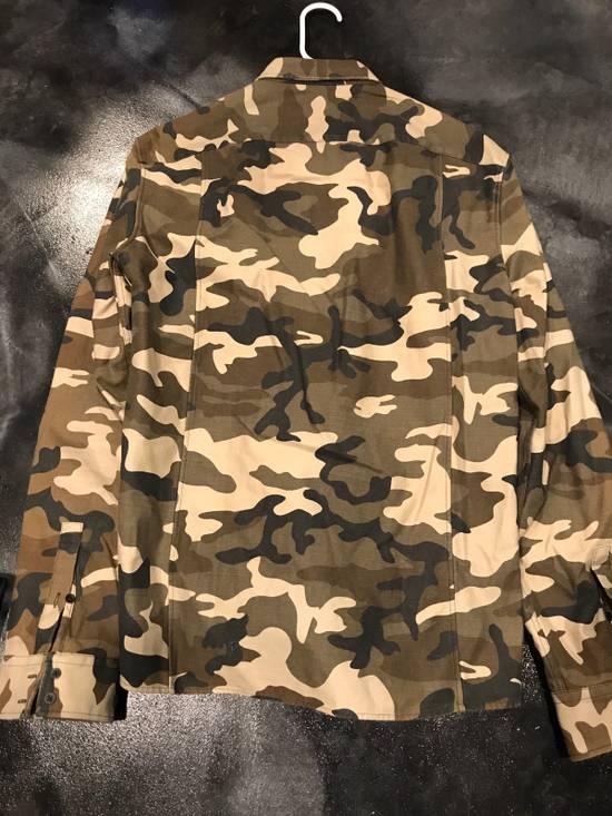 Balmain BALMAIN PARIS Camo Dress Shirt Size US L / EU 52-54 / 3 - 3