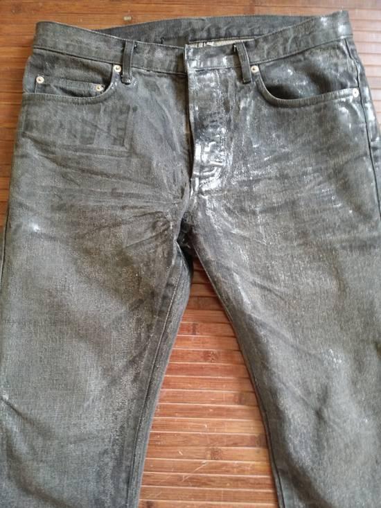 Dior Dior Waxed Black Jeans Slimane Size US 30 / EU 46