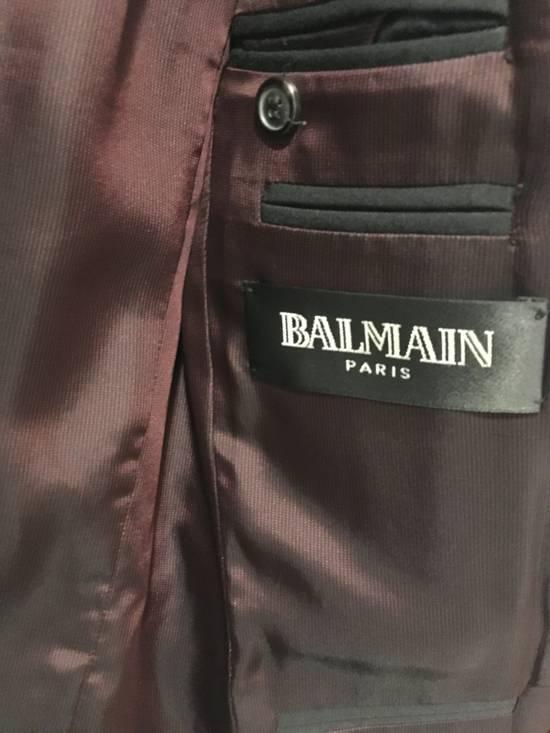 Balmain SS11 Crest/Pin Blazer Size 36R - 5