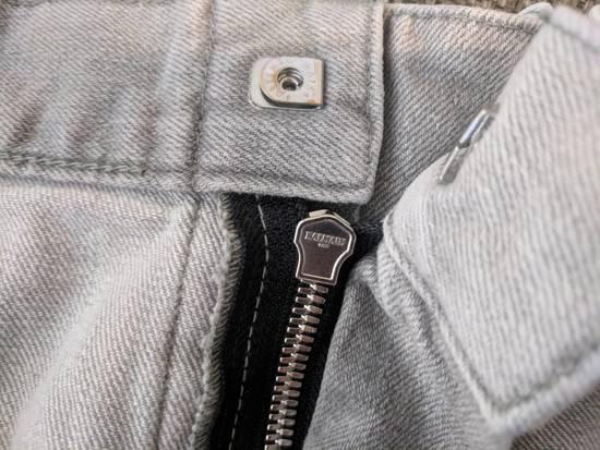Balmain BNWT Balmain Gray Biker Jeans size 35 Size US 35 - 9