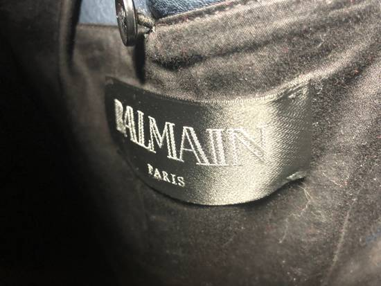 Balmain Sailor's Leather Jacket Size 50 Size US M / EU 48-50 / 2 - 5