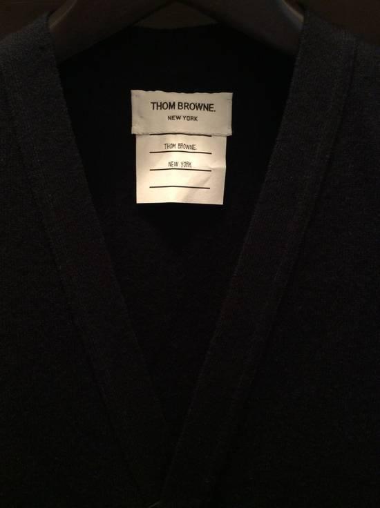 Thom Browne Black cashmere vest cardi 2 Size US M / EU 48-50 / 2 - 1