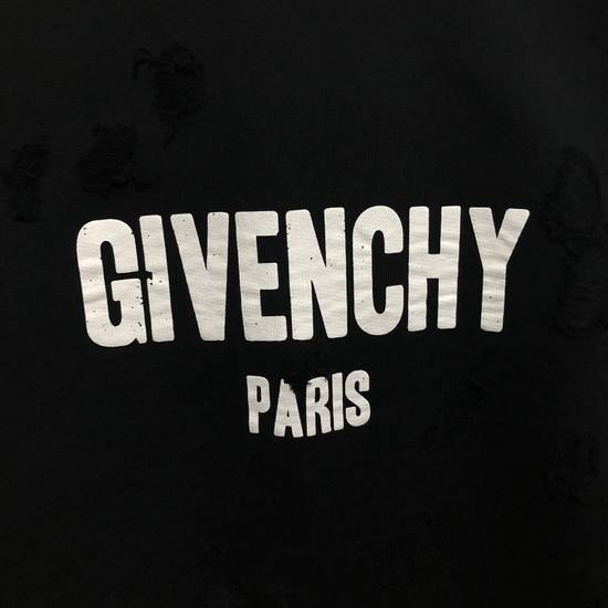 Givenchy Cuban Destroyed Logo Cotton Hoodie Size US XS / EU 42 / 0 - 5