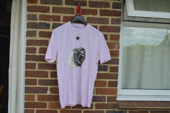 Givenchy Pink Monkey Brothers T-shirt Size US M / EU 48-50 / 2