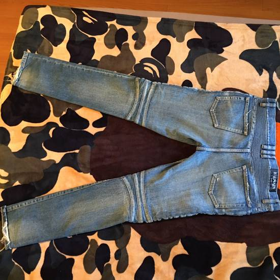 Balmain Balmain Ripped Denim Size US 31 - 3
