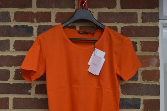 Balmain Orange Distressed T-shirt Size US M / EU 48-50 / 2 - 1