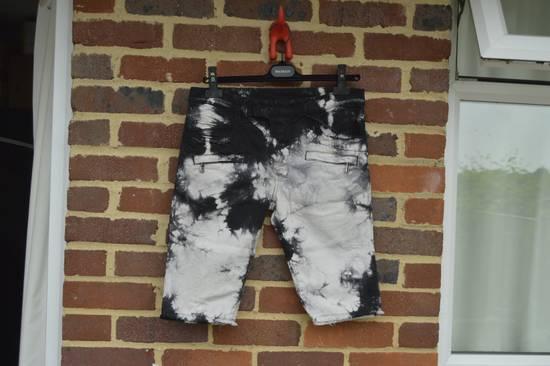 Balmain Black Tie Dye Shorts Size US 30 / EU 46