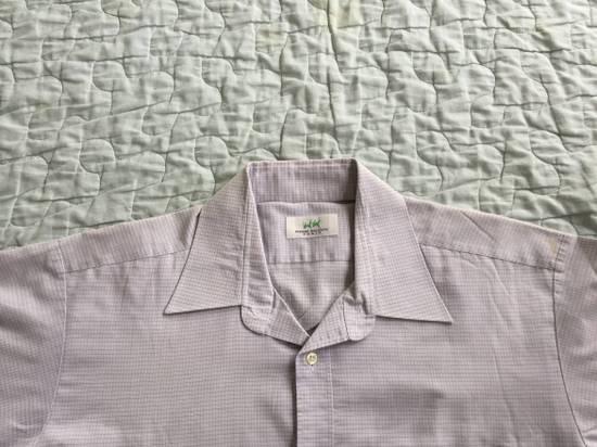 Balmain Vintage PIERRE BALMAIN Paris Plaids & Checks Striped Casual Workwear Shirt Tee Size US L / EU 52-54 / 3 - 4