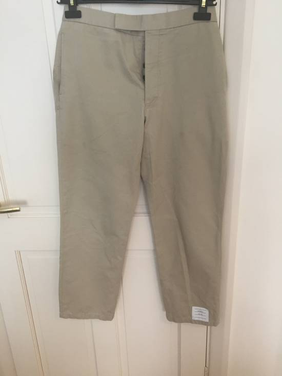 Thom Browne RRP$760 chinos with cosgrain Size US 30 / EU 46