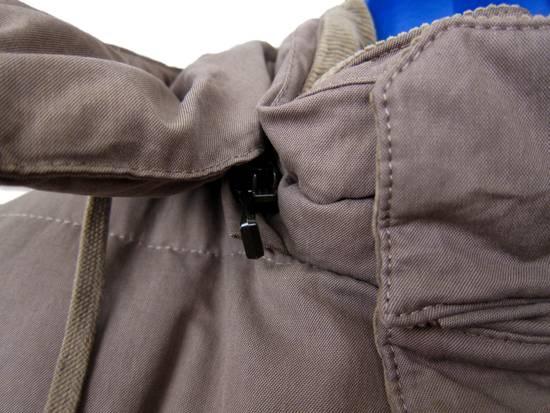 Balmain AW11 Khaki Military Down Jacket sz. 44 Size US XS / EU 42 / 0 - 7