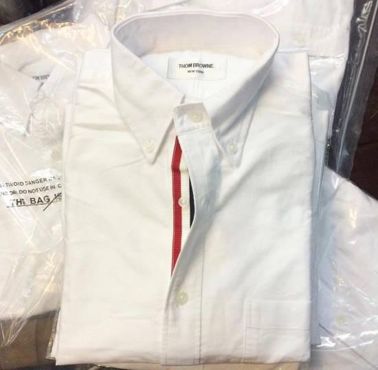 Thom Browne Thom Browne White Oxford Classic Shirt Size US XS / EU 42 / 0