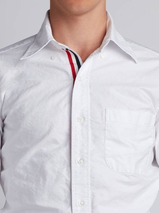 Thom Browne *Brand New* Button Up Grosgrain Placket Oxford Shirt Size US S / EU 44-46 / 1