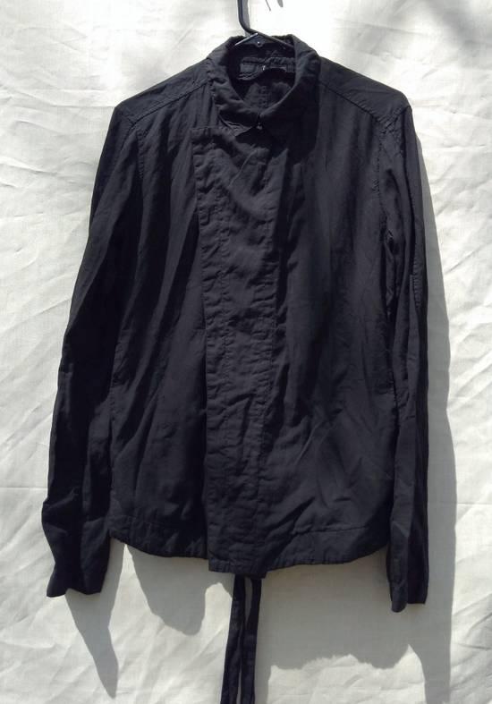 Julius Black Belted Asymmetric Shirt s/s13 Size US M / EU 48-50 / 2