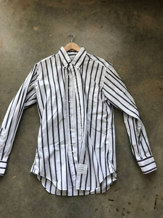 Thom Browne Striped Button Up Size US L / EU 52-54 / 3