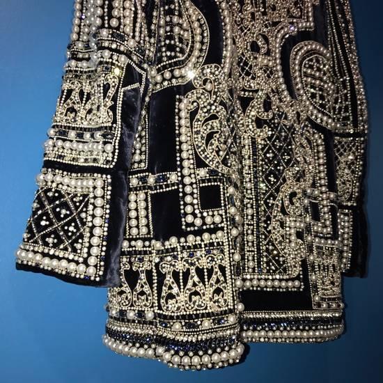 Balmain Balmain Fall 2012 Swarovski Crystal & Pearl Fabergé Tuxedo Size US XXL / EU 58 / 5 - 14