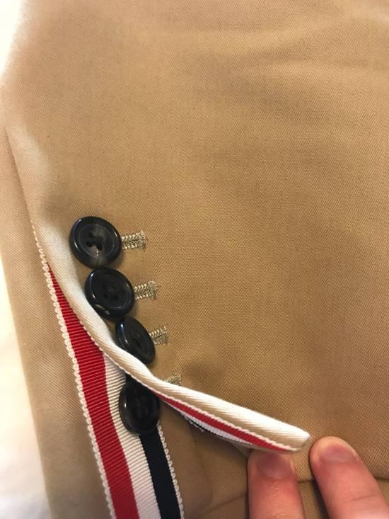 Thom Browne Thom Browne Tan Macintosh Overcoat - Size 00 Size US XXS / EU 40 - 7