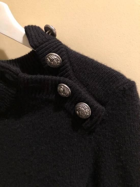 Balmain Black Cashmere Sweater Size US XS / EU 42 / 0 - 2