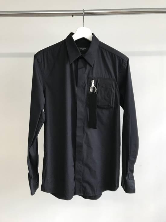 Givenchy Bomber Zip Pocket Dress Shirt Size US S / EU 44-46 / 1