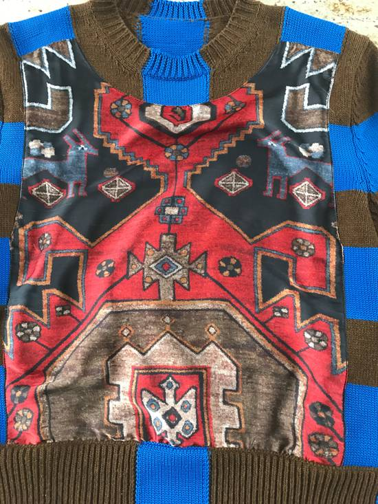 Givenchy Runway Persian Printed Knit Sweater Size US XS / EU 42 / 0 - 11