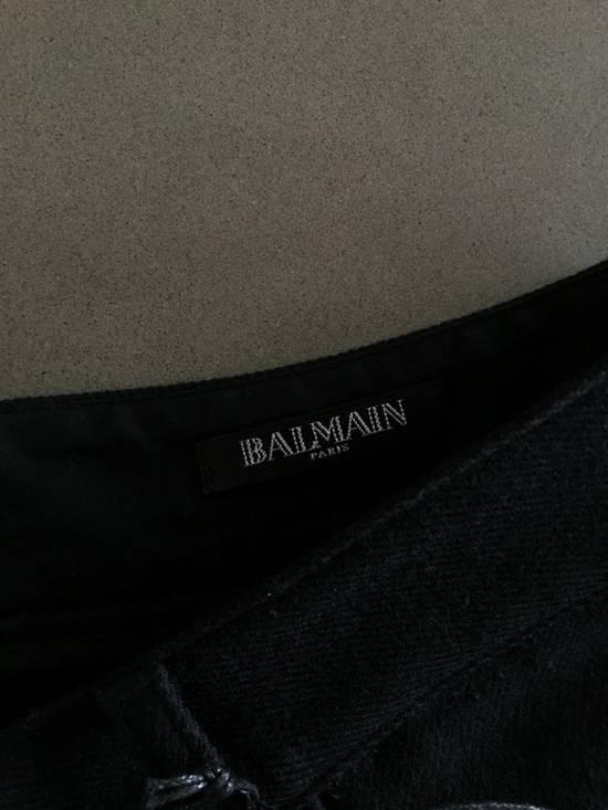 Balmain Wool Biker Pants Size US 32 / EU 48 - 6