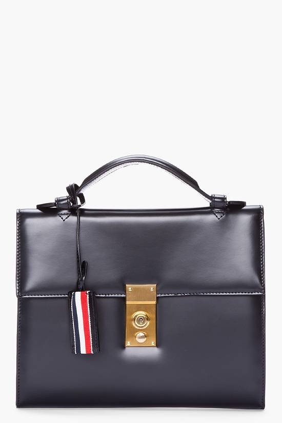 Thom Browne Thom Browne Leather Tablet Case Size ONE SIZE