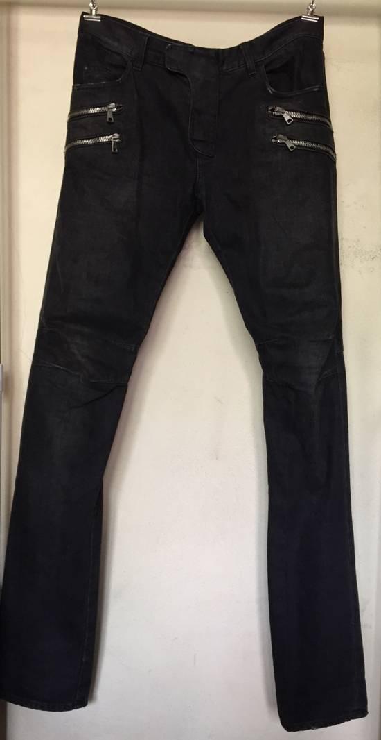 Balmain Last Drop No Offer Balmain Biker Jeans Aw11 Size US 32 / EU 48