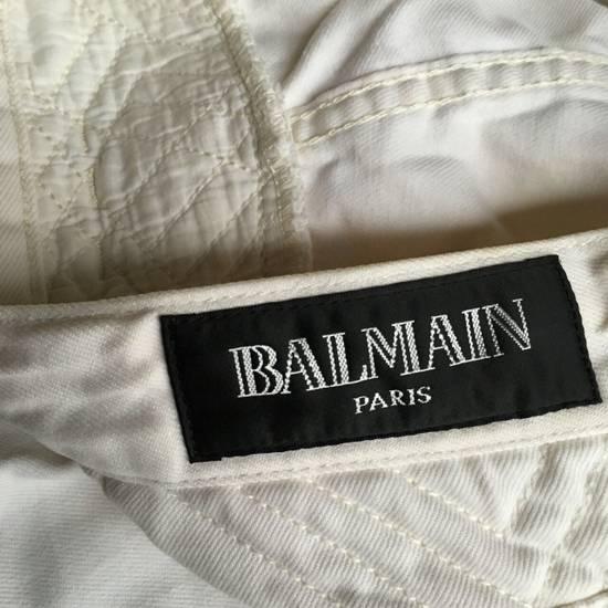 Balmain Balmain White Biker Pants Size US 36 / EU 52 - 3