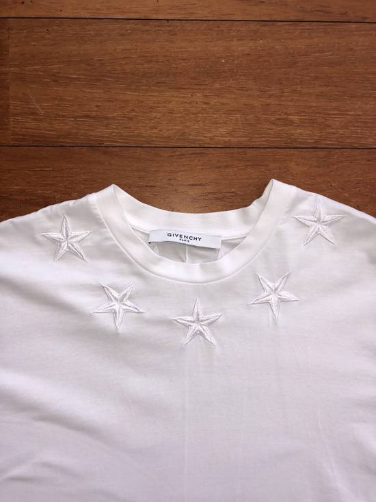 Givenchy Cuba Fit T-shirt White Stars Size US XS / EU 42 / 0