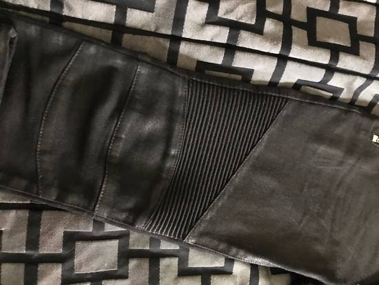 Balmain !Need Gone! Balmain Bikers Waxed Fits 29-31 Size US 29 - 2
