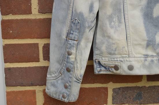 Balmain Light Blue Distressed Denim Jacket Size US XL / EU 56 / 4 - 11