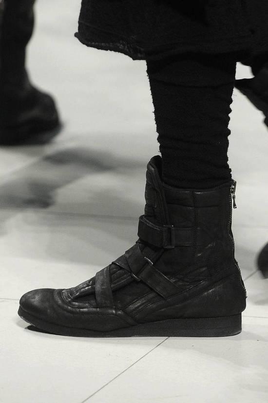 Julius Backzip Velcro Strap Leather Boots f/w11 Halo Size US 9 / EU 42 - 13