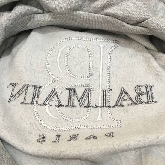 Balmain Vtg PIERRE BALMAIN PARIS Big Logo Made In JAPAN Gray MEDIUM Sweatshirt Jumper Size US M / EU 48-50 / 2 - 7