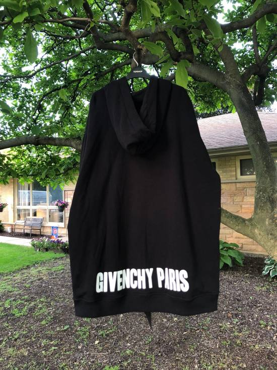 Givenchy Oversized silk-trimmed cotton hooded sweatshirt Size US M / EU 48-50 / 2 - 1