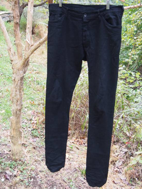 Julius Glitch 9oz Black Denim Size US 34 / EU 50 - 1