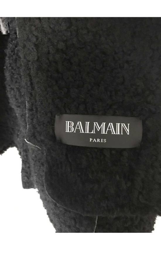Balmain shearling leather biker jacket Size US M / EU 48-50 / 2 - 6