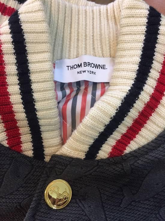 Thom Browne Whales Wool Varsity Jacket Size US M / EU 48-50 / 2 - 1