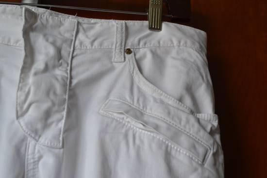 Balmain white biker pant Size US 32 / EU 48 - 6