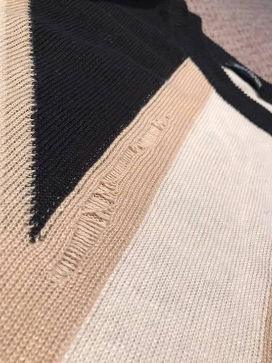 Balmain Union Jack Sweater beige/blk Size US XL / EU 56 / 4 - 15