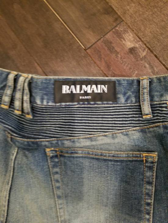 Balmain Distressed denim Size US 33 - 13