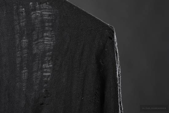 Julius 2005 AW frayed wool knit top Size US S / EU 44-46 / 1 - 4