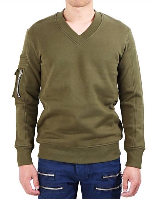 Balmain Balmain Khaki Sweatshirt Size US M / EU 48-50 / 2 - 1