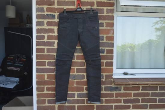 Balmain Black Biker Jeans Size US 30 / EU 46