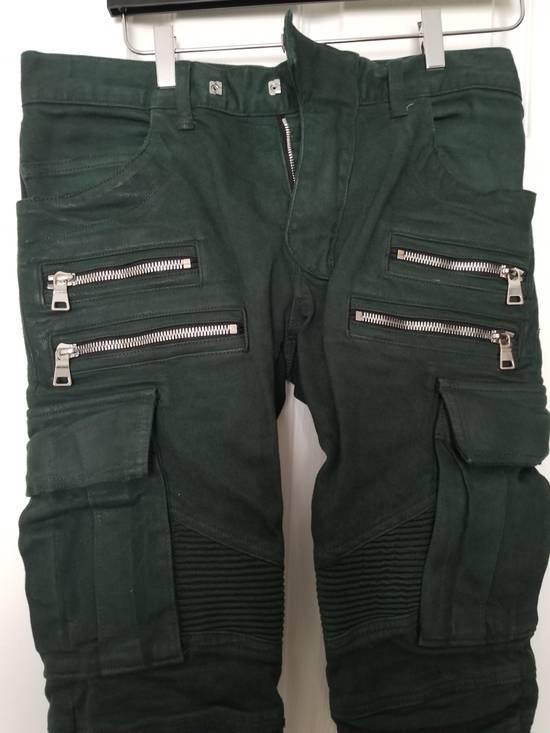Balmain Balmain Cargo Moto Skinny Jeans Size US 28 / EU 44 - 2