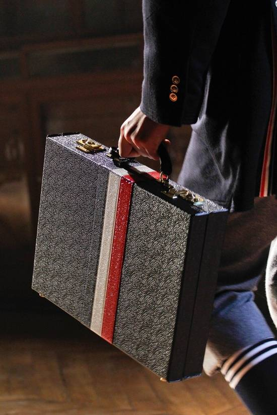 Thom Browne FW2012 Thom Browne Briefcase Size ONE SIZE - 8