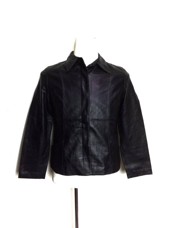 Balmain BALMAIN Paris Black Leather Biker Rockers Rockabilly Cafe Racer Jacket Size US M / EU 48-50 / 2