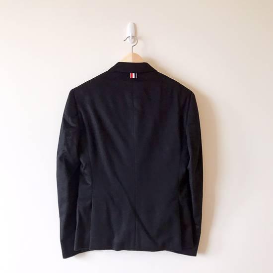 Thom Browne THOM BROWNE CLASSIC CASHMERE NAVY BLAZER JACKET Size 40S - 1