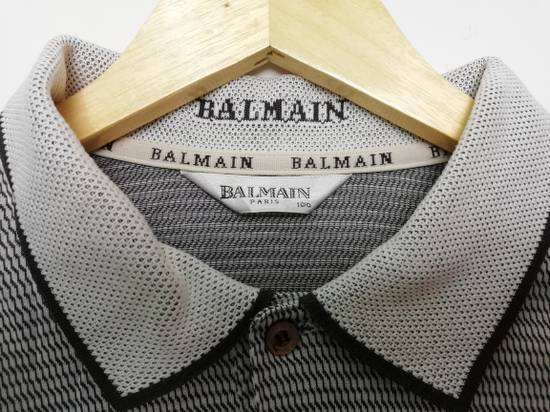 Balmain Pierre Balmain Paris Long Sleeves Golf Shirt Size US L / EU 52-54 / 3 - 5