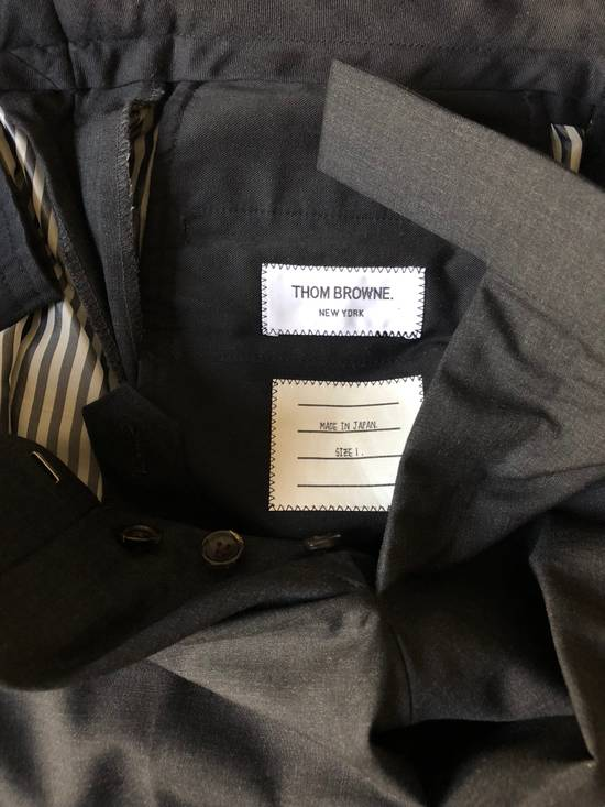 Thom Browne Charcoal Suit (Size 1) Size 38R - 10