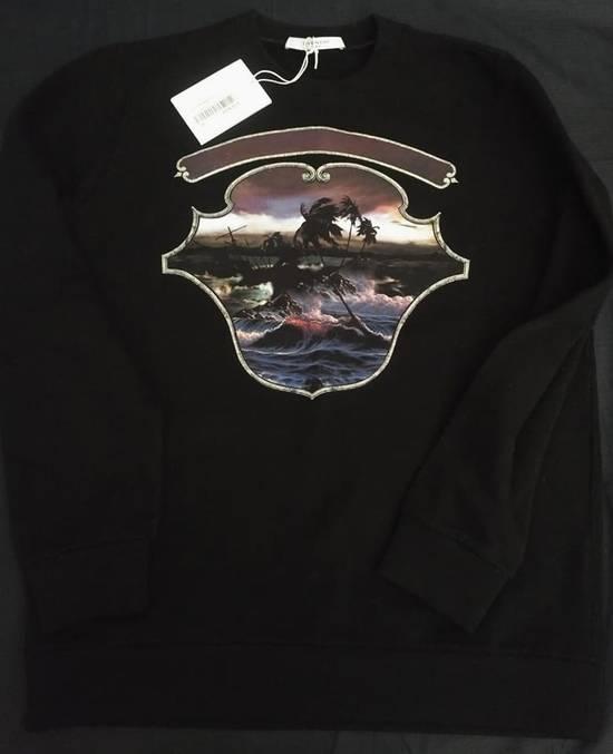Givenchy Black Dark Hawaii Crest Sweatshirt Size US M / EU 48-50 / 2 - 1